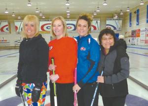 Morrison rink wins Ladies
