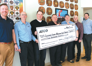 ATCO pitches in to help relocate live fire training centre
