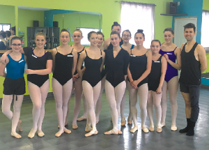 Local dance students benefit from ballet professionals