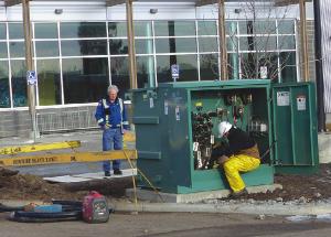 Line failure shuts down MRC; fix proves complicated