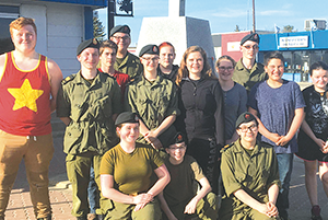 Local cadets have 'remarkable experience' while at Vimy Ridge