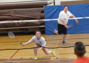 High school badminton