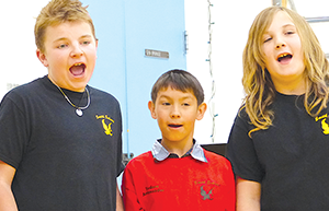 Smith School students show off their leadership
