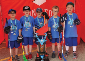 Ball hockey kids go undefeated in city