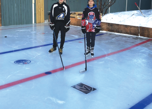 Outdoor rinks pop up in response to COVID shutdown