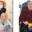 Local teacher gifts paintings to long term care resident