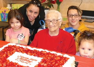 Two people from the area reach the 103-year milestone