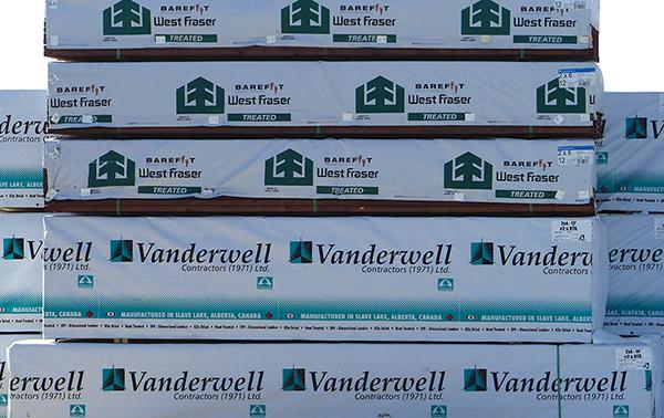 Lumber price triples
