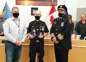 Town of Slave Lake Council notebook