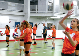August Slave Lake volleyball camp hopeful
