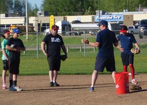 Minor baseball going ahead