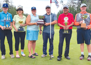 Men's club championship golf decided in playoff