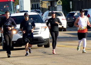 Firefighters running to raise funds for fallen firefighters