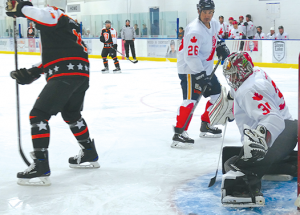 'Great to be back on the ice' in Ice Breaker