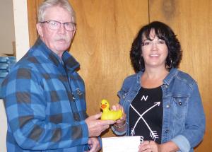Duck winner